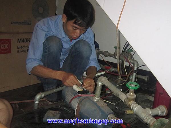 Cách xử lý khi máy bơm nước bị hỏng